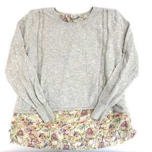 Seen Worn Kept Anthropologie Gray Layered Sweater